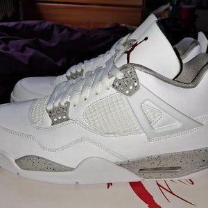 Air Jordan 4 Retro Tech White   MEN'S  SHOES